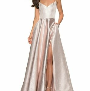 La Femme formal dress